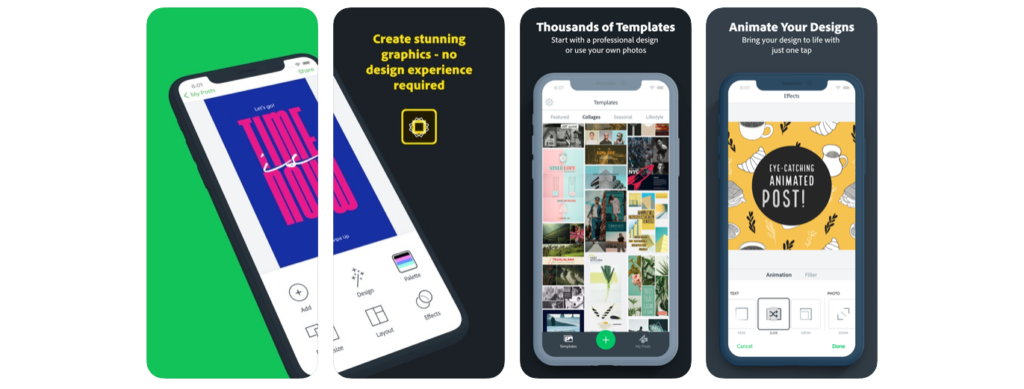 Wolf Global_Apps For Instagram Stories_Adobe Spark