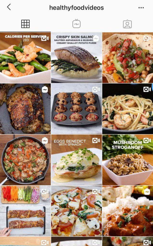 Wolf Global_Fitness Instagram Accounts_healthyfoodvideos