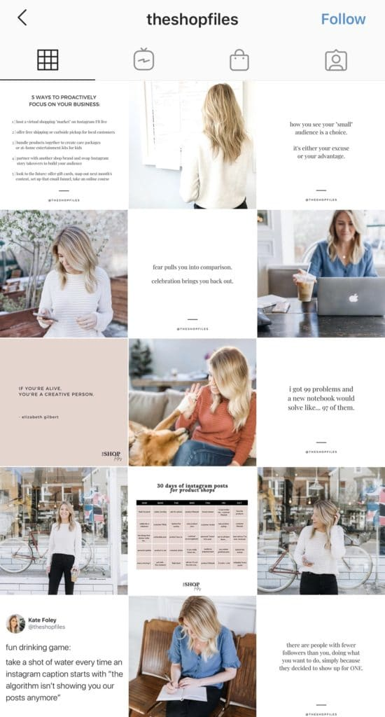 Wolf Global_Instagram Themes_Tiled Grid
