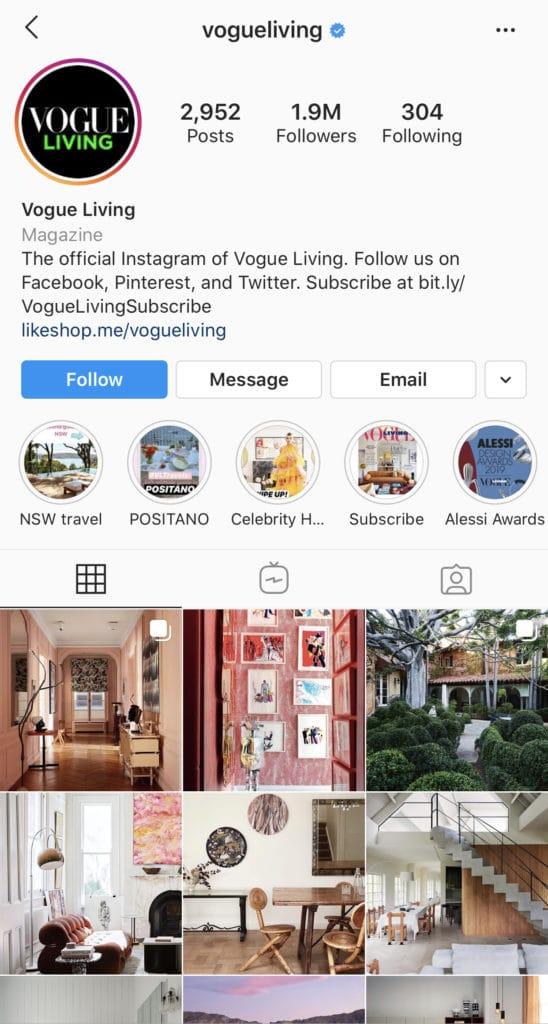 Wolf Global_Interior Design Instagram Accounts_VogueLiving