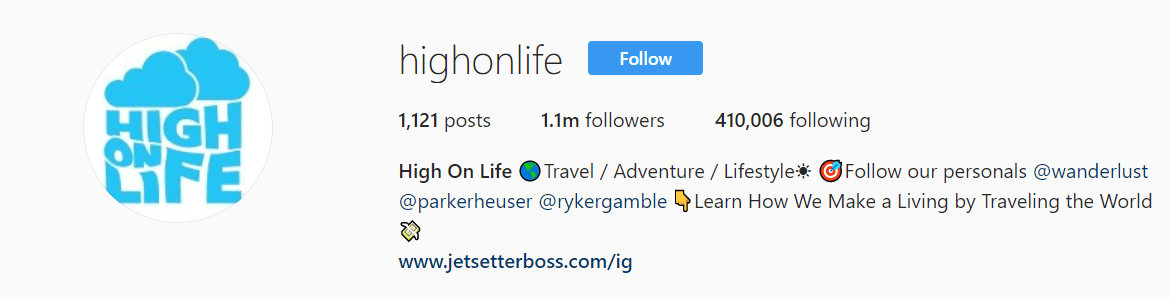 High On Life The Instagram Game Vol. 1 Wolf Global